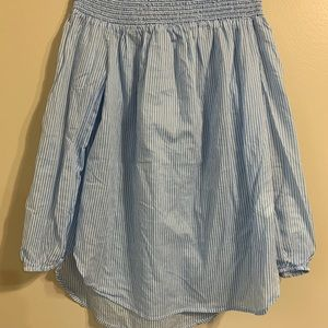 Michael kids off the shoulder blouse size small